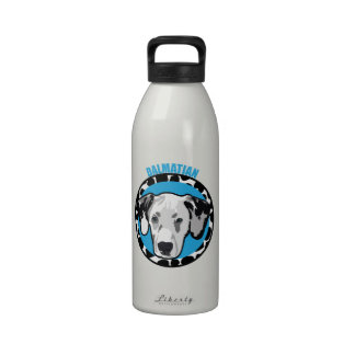 Dog Dalmatian Water Bottle
