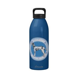 Dog Dalmatian Reusable Water Bottles