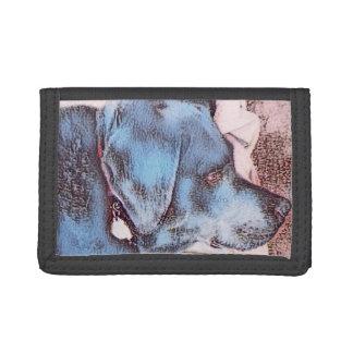 Dog Days Black Labrador on Wallet
