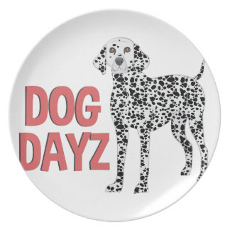 Dog Dayz Dinner Plates