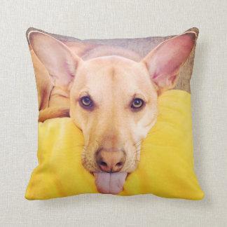 'Dog Daze of Summer' Throw Pillow