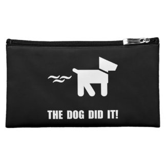 Dog Did It Cosmetic Bags