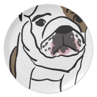 Dog Dinner Plate