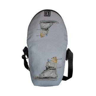 Dog Driving Shoe Mini Messenger Bag