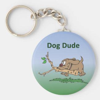 Dog Dude Keychain