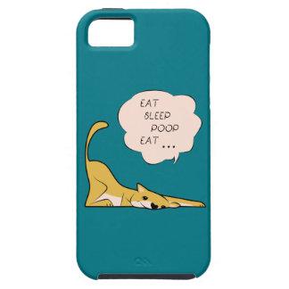 dog_eatsleeppoop iPhone 5 case