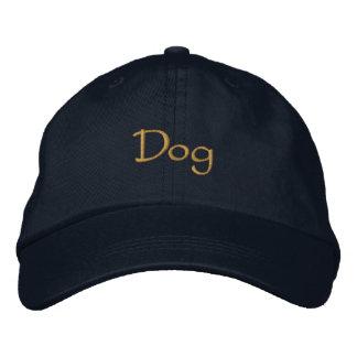 Dog Embroidered Baseball Cap