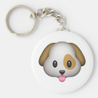 Dog - Emoji Keychain