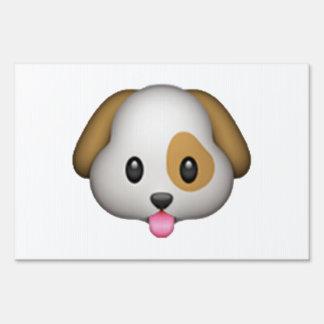 Dog - Emoji Sign