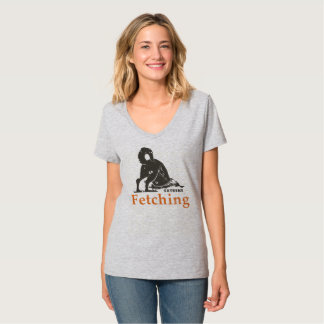 Dog, Extreme Fetching women's tshirt