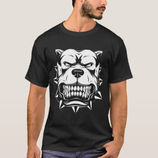 Dog Face - Angry Bulldog T-Shirt