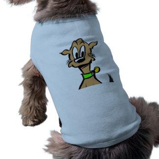 Dog Face Cartoon Tank Top Dog Tee Shirt