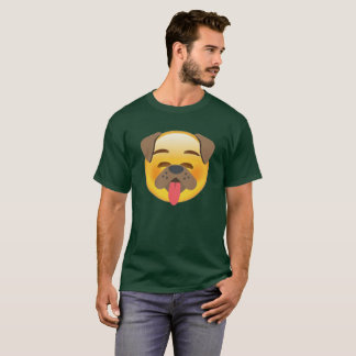 Dog Face Emoji T-Shirt