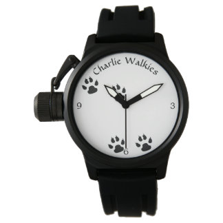 Dog Footprints Template Watch