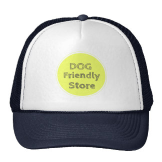 Dog Friendly Store Mesh Hats
