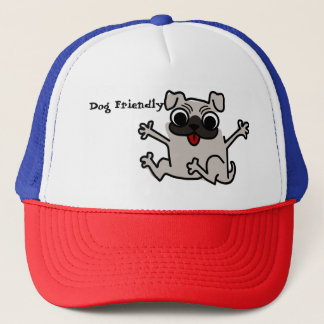 Dog Friendly to trucker hat