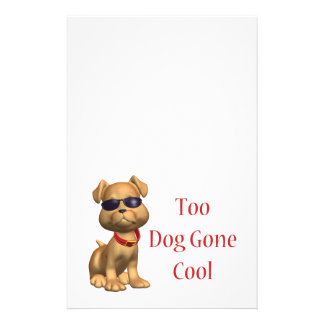 Dog Gone Cool Doggy Stationery