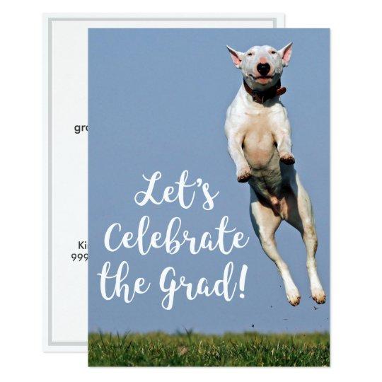 Dog Graduation Funny Custom Party Invitation