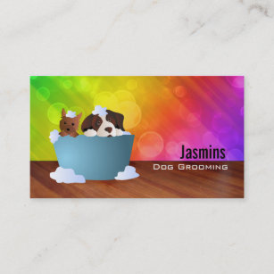 Dog business cards profile cards zazzle ca dog groomer business cards colourmoves