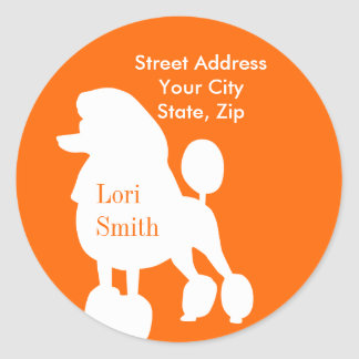 Dog Groomer or Walker Seals Round Sticker