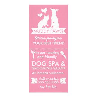 Dog Groomer Rack Card and Menu