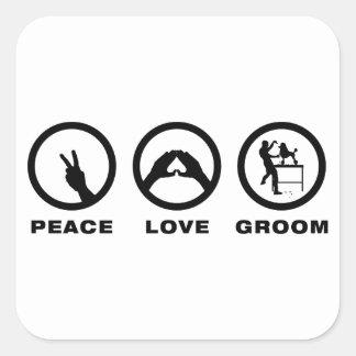Dog Groomer Square Sticker