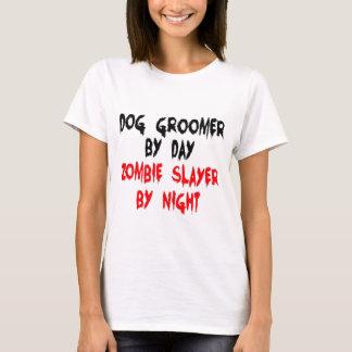 Dog Groomer Zombie Slayer T-Shirt