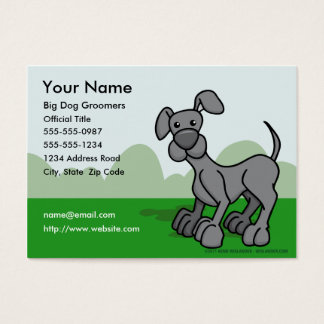 Dog Groomers Business Card