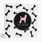 Dog Grooming 3 Ring Binder