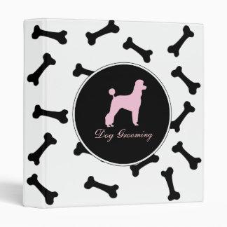 Dog Grooming 3 Ring Binder