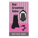Dog Grooming Business Cards - Personalizable