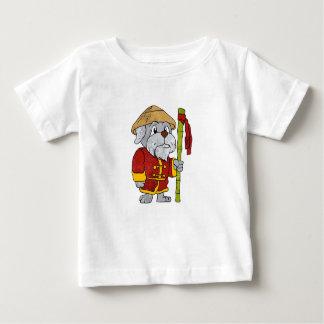 Dog guru master cartoon baby T-Shirt
