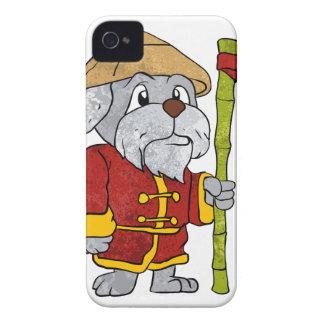 Dog guru master cartoon iPhone 4 covers