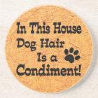 Dog Hair Condiment Coaster