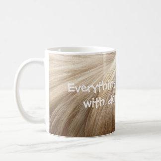 Dog hair don't care! coffee mug