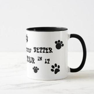 dog hair mug! mug