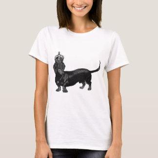 Dog Handsome Dachshund Crown Royal T-Shirt