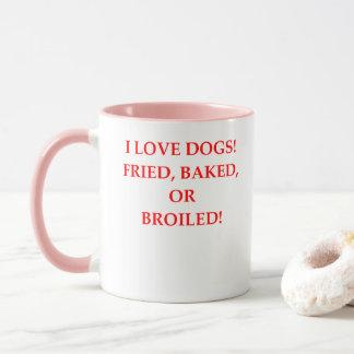 dog hater mug