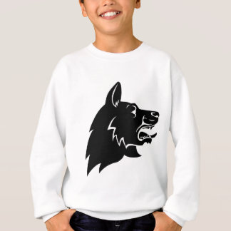 Dog Head Icon Sweatshirt