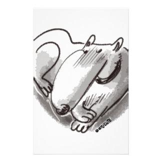 dog heart stationery