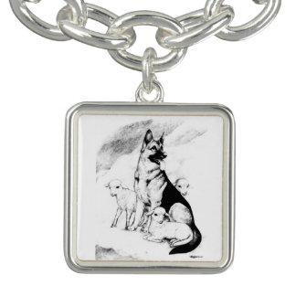 Dog Heaven, the Master's Flock Charm Bracelet