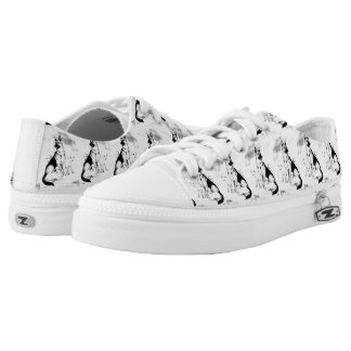 Dog Heaven, the Master's Flock Low-Top Sneakers