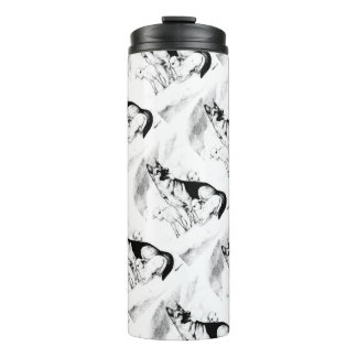 Dog Heaven, the Master's Flock Thermal Tumbler
