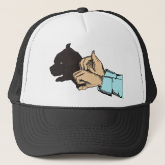 Dog Image Created With Hand Art -T Shirts, Apparel Trucker Hat