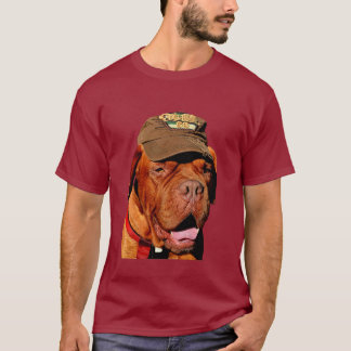 Dog in a Hat T-Shirt
