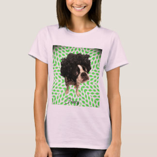 Dog in a wig T-Shirt