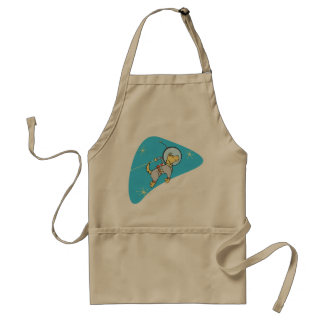 Dog In Space Apron