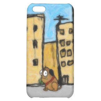 Dog in the City iPhone 5C Cover