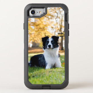 Dog in the Nature OtterBox Defender iPhone 7 Case