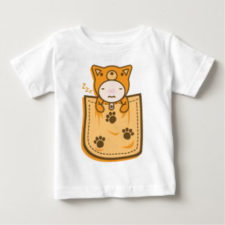 Dog_in_the_Pocket Baby T-Shirt